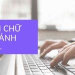 chen chu vao anh online